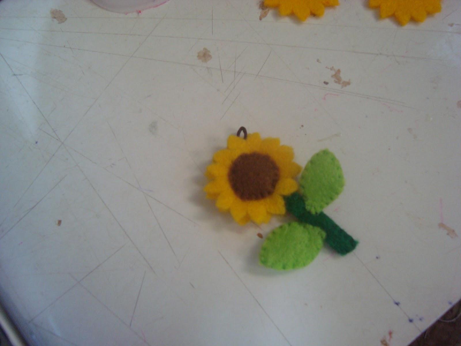 Airin Handicrabby: Tutorial Membuat Mini Sunflower
