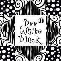 Bee White Black Quilting Bee