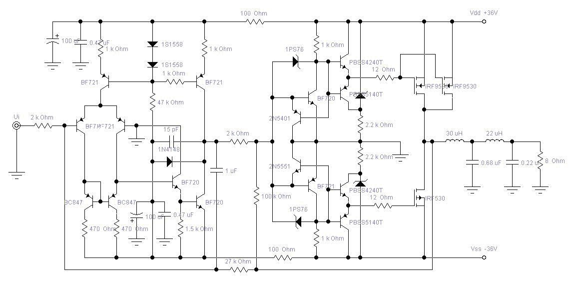 separation of class d amplifier another electronics Electronic Circuit Schematic Diagrams Electronic Circuit Diagram Free Download