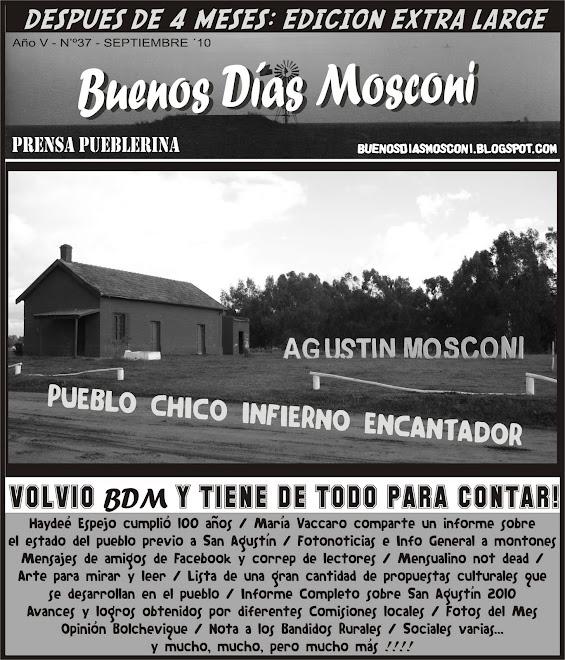Buenos Días Mosconi