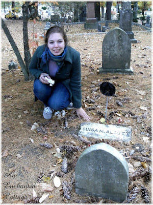 you may remember that a couple of weeks ago i posted about sleepy hollow cemetery in concord where all of the alcotts are buried