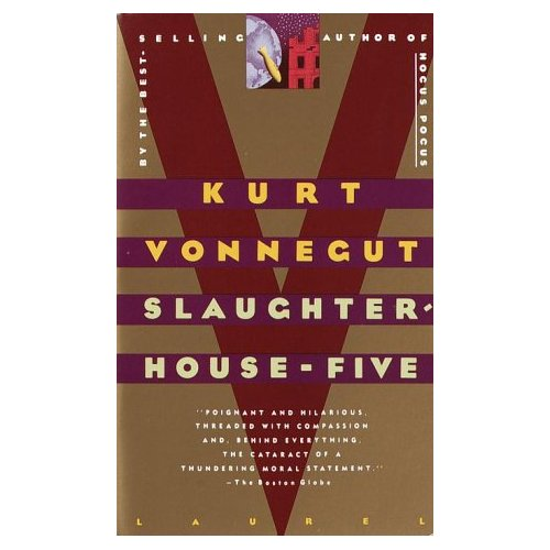 slaughterhouse five Failure to take responsibility for one's actions is universally seen as a self-inflicted wound with fateful consequences however in kurt vonnegut's slaughterhouse five, the very nature of social responsibility and free will is challenged.