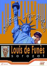 Louis De Funes - Csendőrök New Yorkban DVD