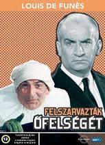 Louis De Funes - Felszarvazták Őfelségét DVD
