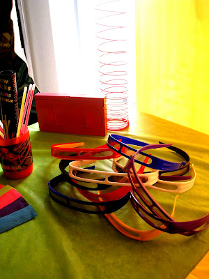 Totally Awesome 80's Party via Kara's Party Ideas with 80's sunglasses and slinky's
