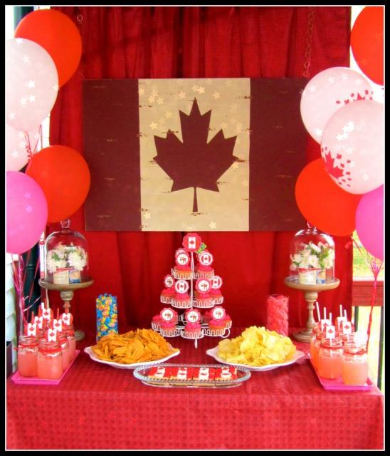 Kara's Party Ideas Canada Day Party
