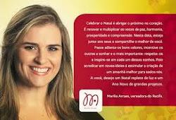 Siga o Twitter de Marília PSB