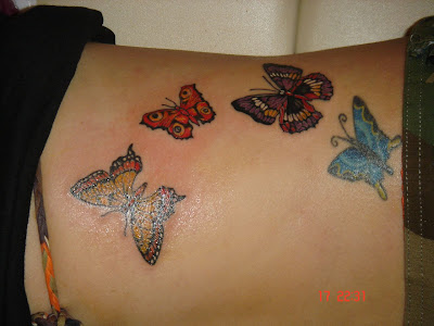 Colorful Tattoos on Colorful Butterflies Tattoo   Tattoo Pictures   Tattoo Designs
