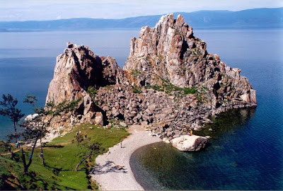 Olchon Island inside the Lake Baikal