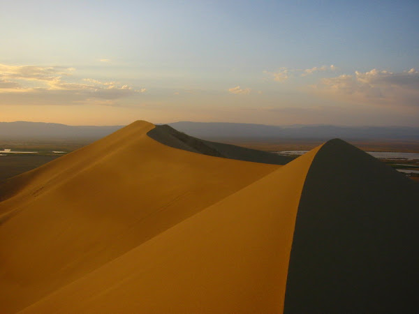 Singing Sand Dunes of Kazakhstan
