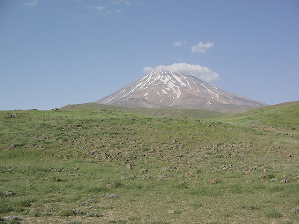 In the foot of Mount Damavand
