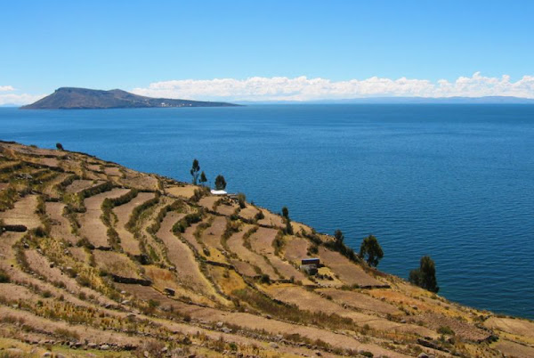 Amantani island, lake titicaca