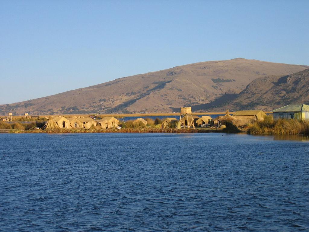 isla titicaca: