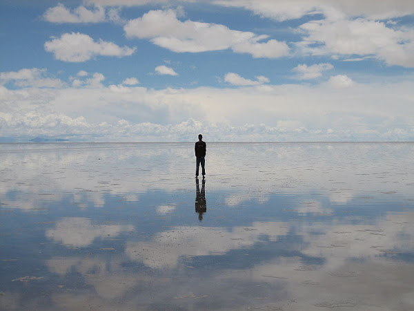 reflection+at+Salar+de+Uyuni