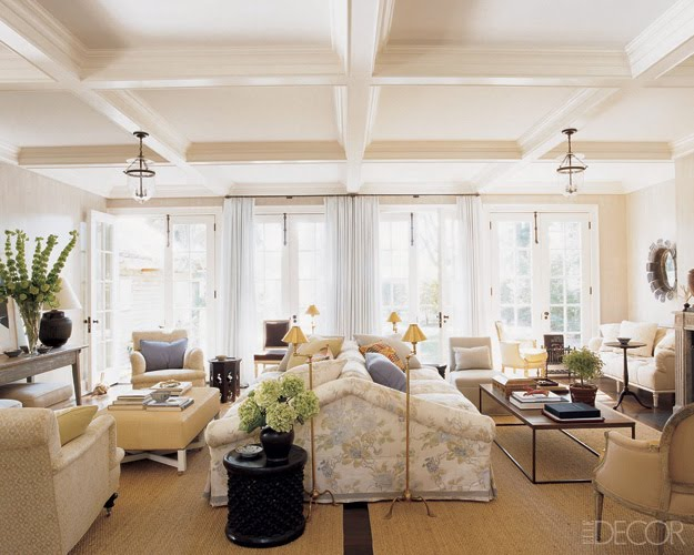 Chic coles back to back sofas for Living room 2 seating areas