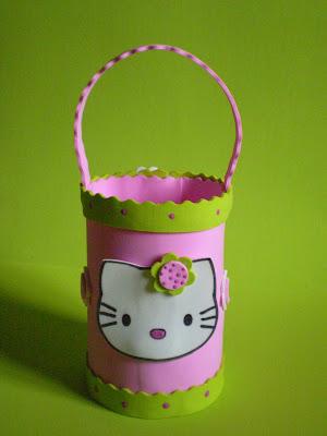Hello Kitty Decoração de mesa para festa infantil III para crianças
