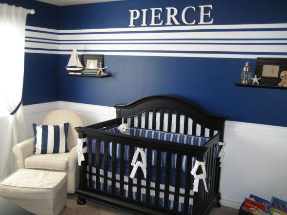 Remarkable Baby Boy Nursery Navy and Blue 588 x 441 · 90 kB · jpeg