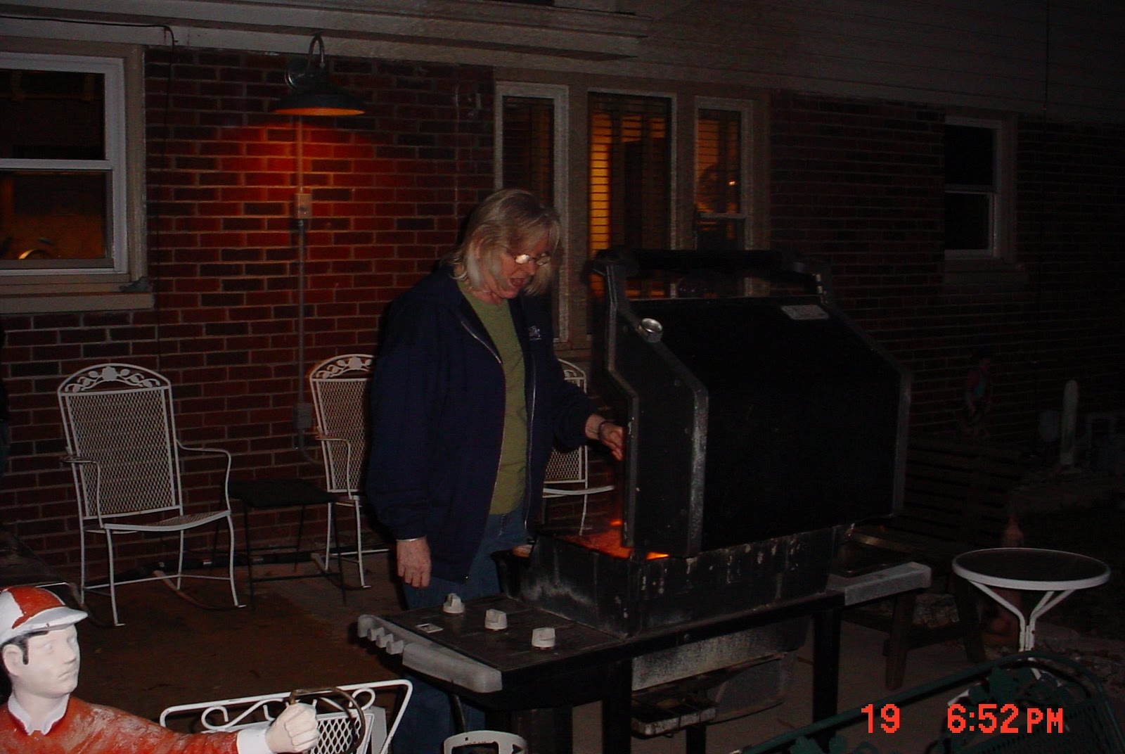 busplunge back yard cook out year 2