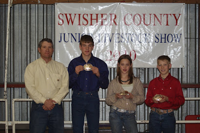 Swisher Co. Jr. Swine Showmanship