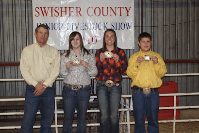 Sr. Swine Showmanship 2010