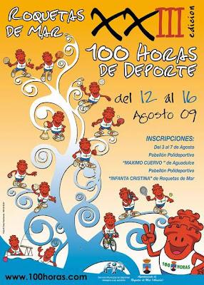 LAS 100 HORAS DE DEPORTE DE ROQUETAS