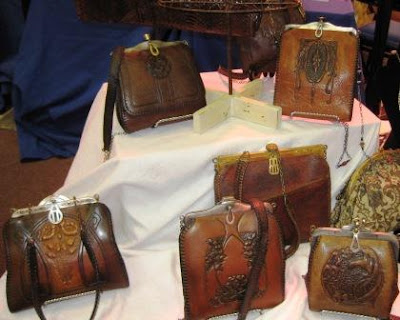 tooled leather bags I have