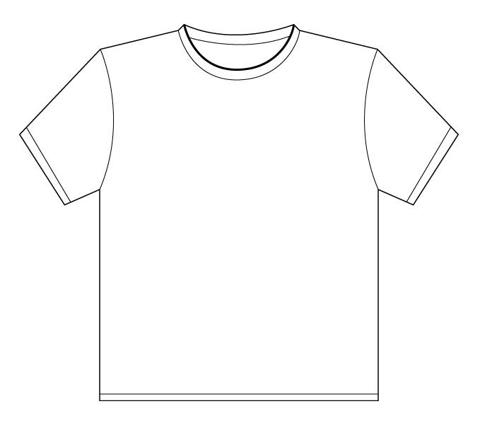 Cool T Shirt Designs Blank Tshirt Template - Blank tshirt template