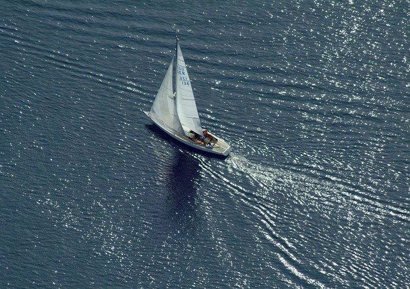Sailboat in the Lake Starnberg