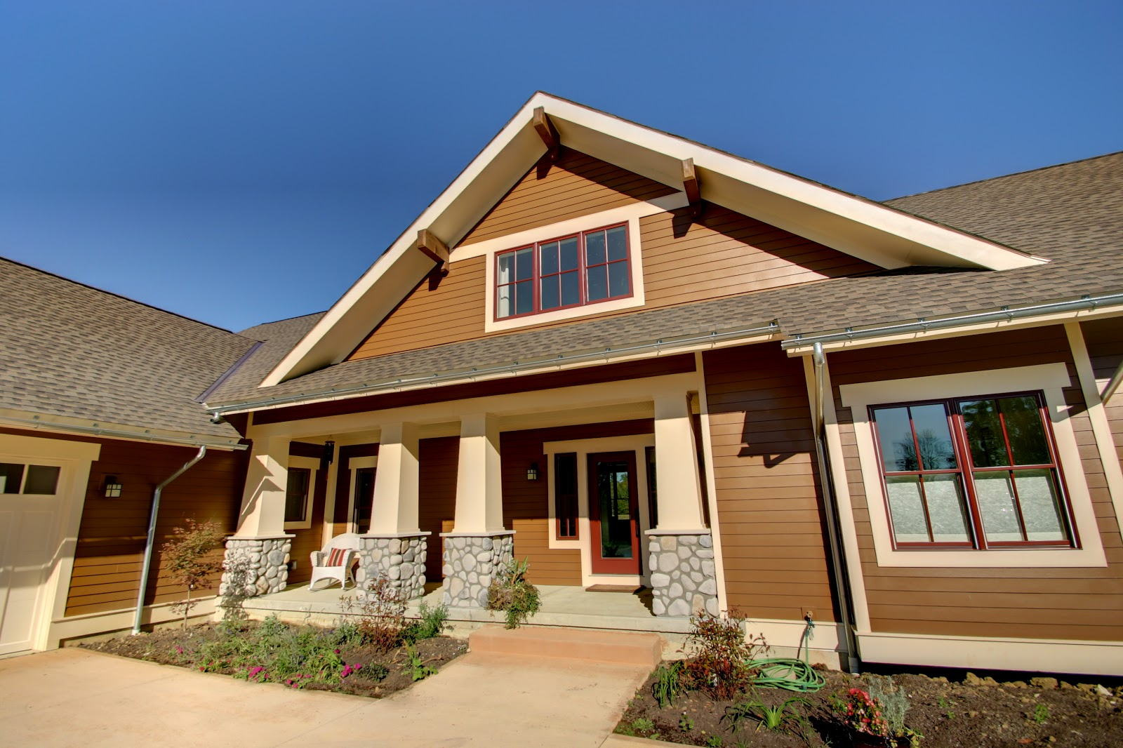 For Homeowners Who Care About Good Design A New Craftsman Style Home