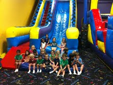 The Kids Birthday Party at Bounce U