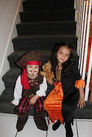 Our Little Witch and Pirate!