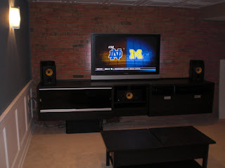 projects built in entertainment center using ikea besta products