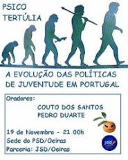 """Debate """" Evolução das Politicas de Juventude em Portugal"""""""