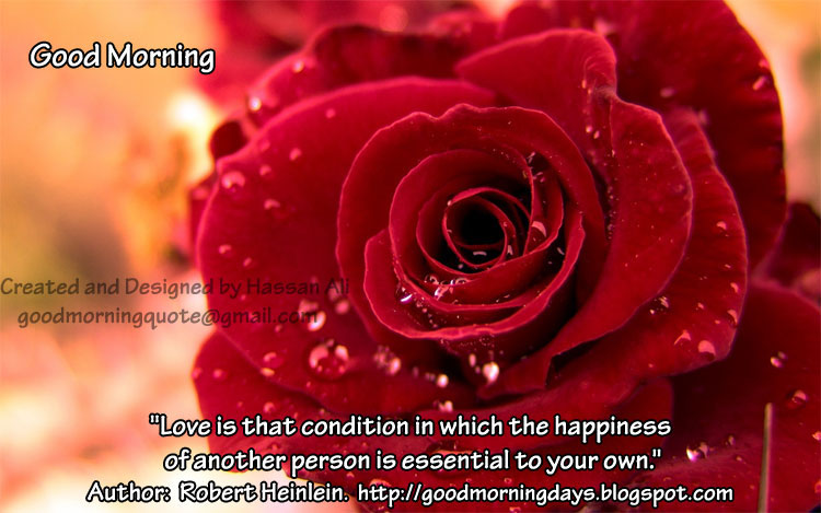 Good Morning Love Inspiring Thoughts for 18-06-2010