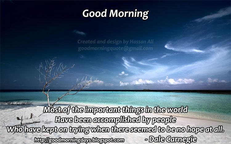 Good Morning Saturday Inspiration : Self improving inspiring quotes good morning saturday