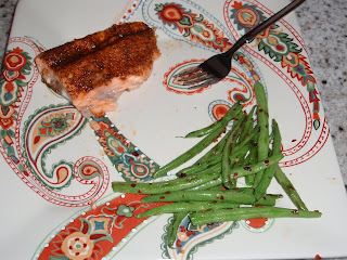 spice rubbed salmon