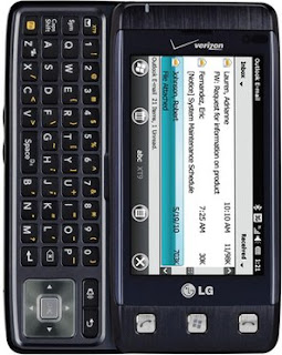 Smartphone QWERTY Berbasis Windows Mobile 6.5