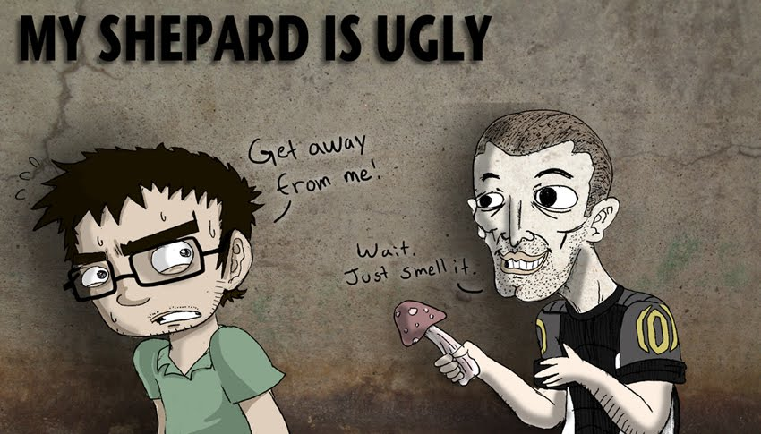 My Shepard is Ugly