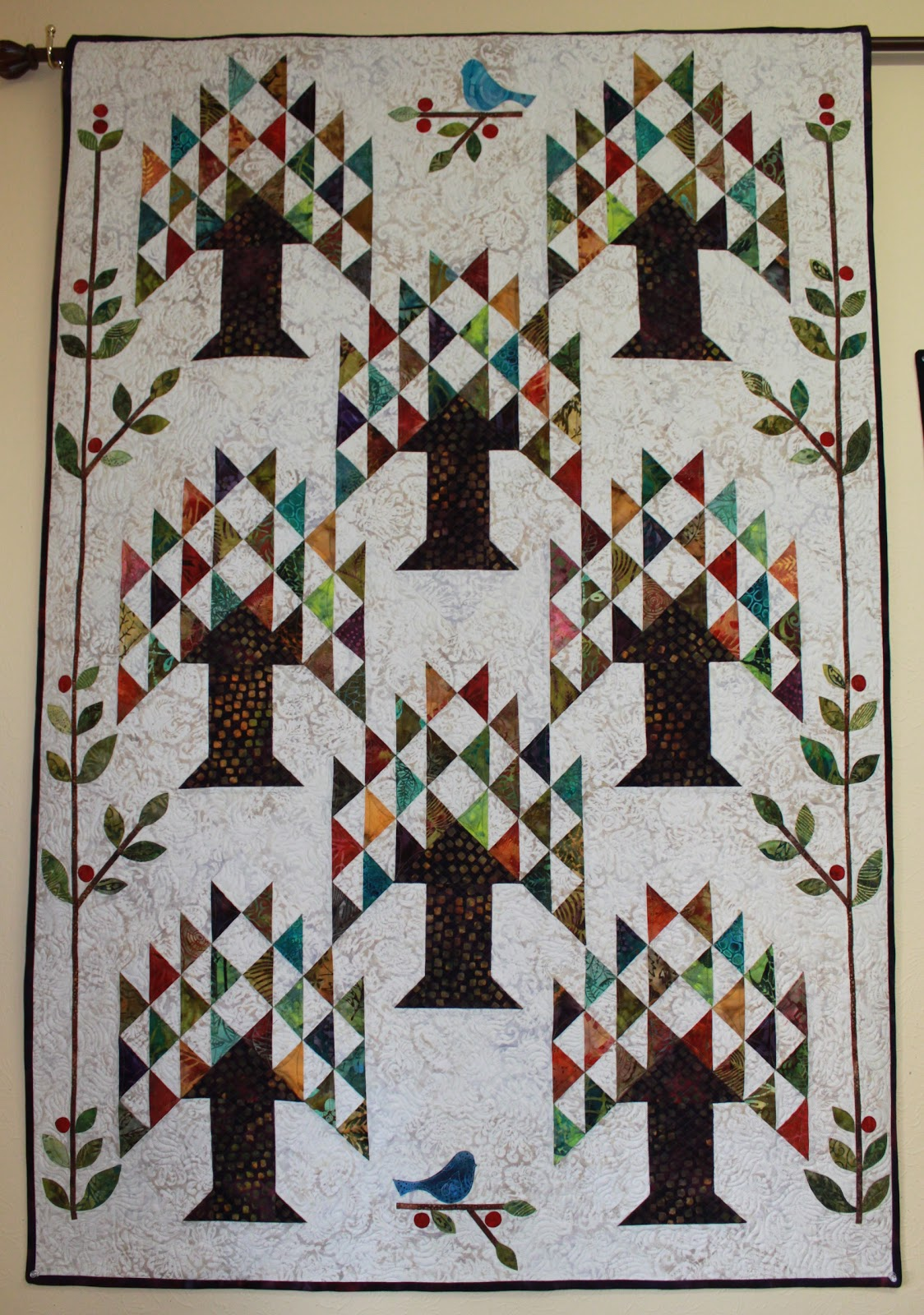 My Blog: Tree of Life Quilt