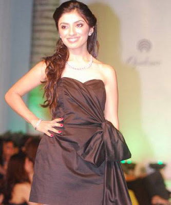Ambalika walks on the ramp