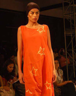 Pia Trivedi at the Kolkata Fashion Week