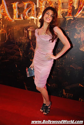 Jacqueline Fernandez at Aladin music launch