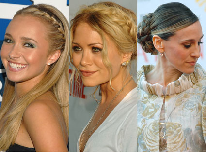 Medium and Long Hair Back to School Hairstyles
