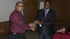 Congratulating a TOT participant -Maputo