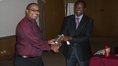 Congratulating a TOT participant -Maputo
