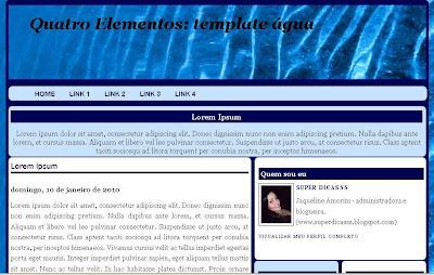 4 Elementos_Template Água