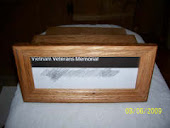 Vietnam Wall Memorial Keepsake Box