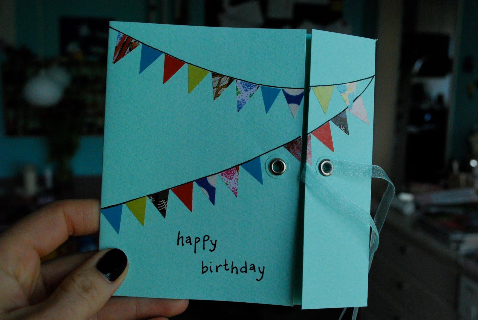 inspiration til fødselsdagskort