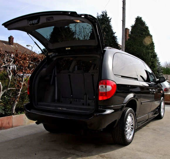 Death And Other Funny Stuff: Minivan Rear Doors: The
