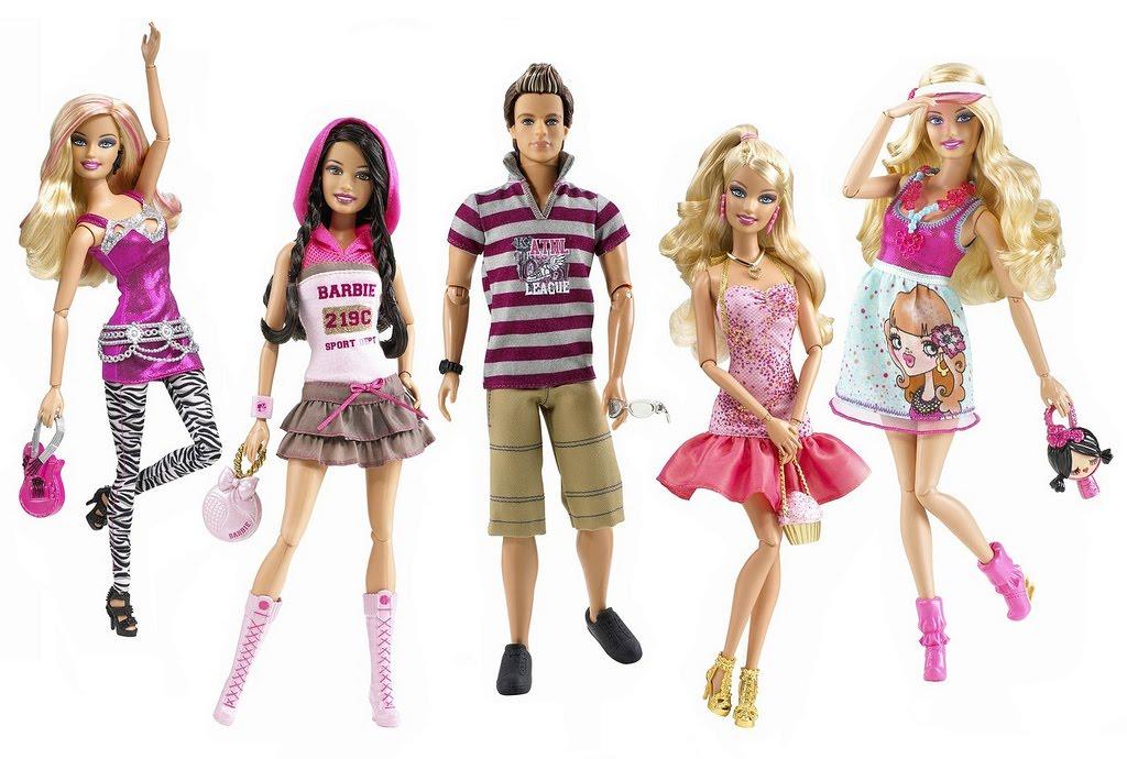Barbie fashionistas swappin styles doll sassy 96